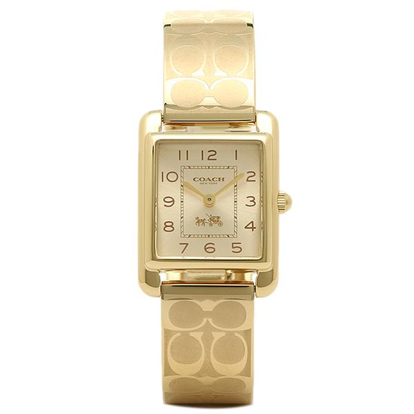 【4時間限定ポイント5倍】コーチ 腕時計 レディース COACH 14502160 イエローゴールド
