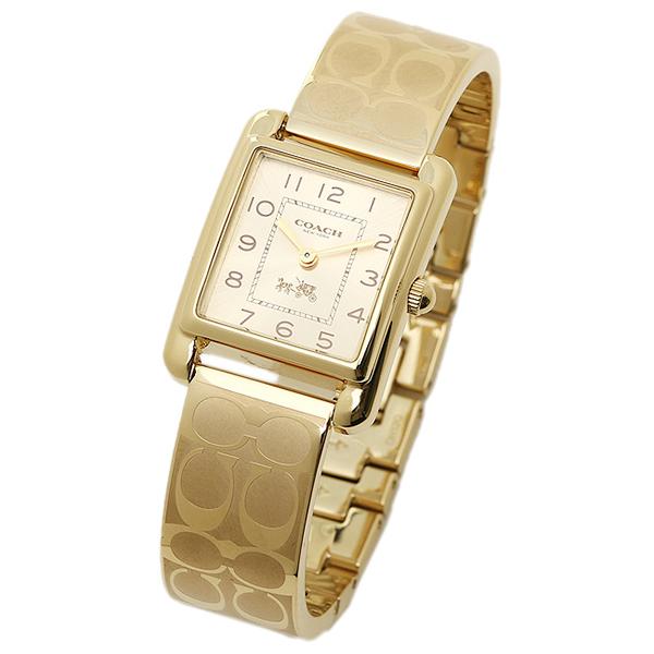코치 손목시계 COACH 14502160 옐로우 골드
