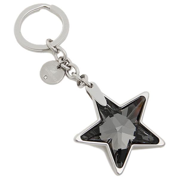 스왈로브스키 키 링 SWAROVSKI 레이디스 1162680 STAR SILVER NIGHT KEY RING 0 SILVER/NIGHT CRYSTAL