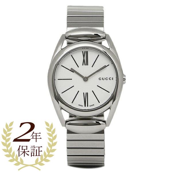 【4時間限定ポイント10倍】グッチ 時計 レディース GUCCI YA140505 ホースビット 腕時計 ウォッチ ホワイト/シルバー
