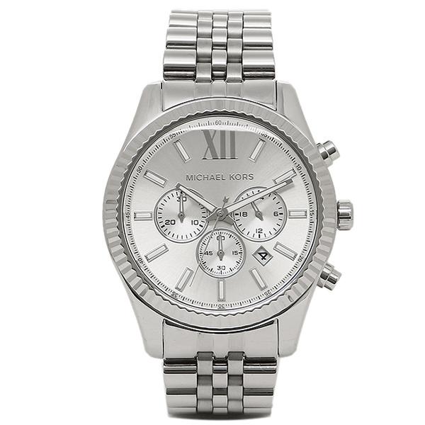 【返品OK】マイケルコース 腕時計 メンズ MICHAEL KORS MK8405 シルバー