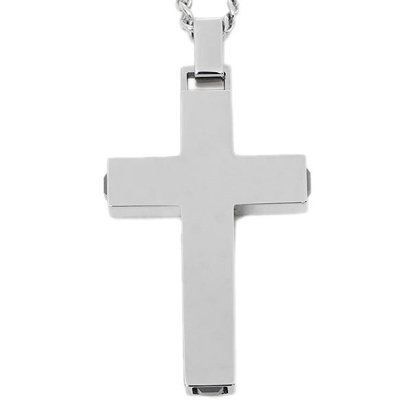 Brand shop axes rakuten global market swarovski necklace men swarovski necklace men swarovski 1068066 midnight cross pendant silver aloadofball Images