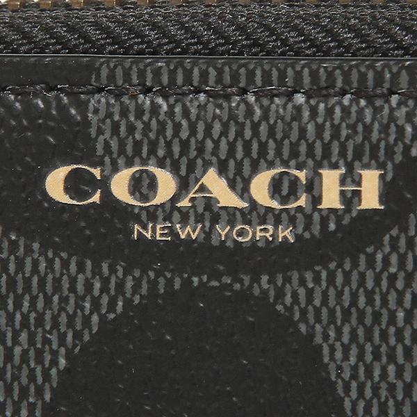 코치장 지갑 COACH F74597 BK/CQ블랙/챠콜