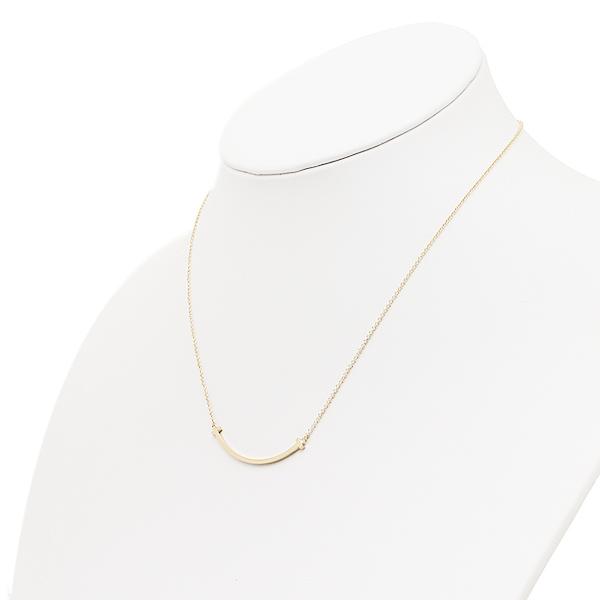 蒂芙尼項鏈TIFFANY&Co.35189459 T微笑小18K吊墜黄金