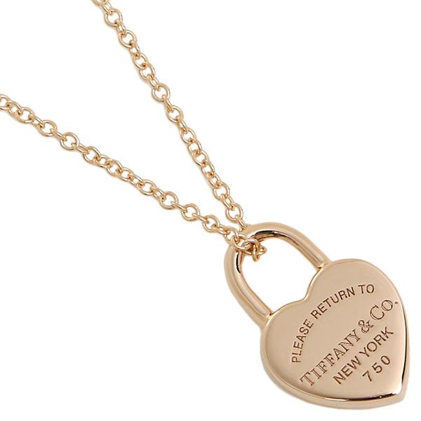 Brand shop axes rakuten global market tiffany necklace tiffany necklace tiffanyco 35540962 return toe tiffany heart tag lock 18k pendant rose gold aloadofball Choice Image