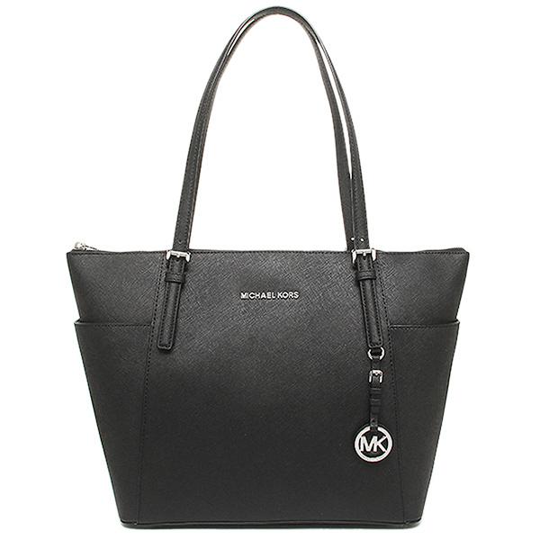 black mk tote bag