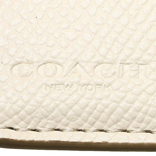 教练奥特莱斯机会钱包COACH F53562 IMDQC灯黄褐色/粉笔