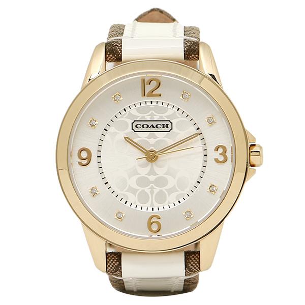 【4時間限定ポイント10倍】コーチ 腕時計 レディース COACH 14501618 クラシックNEW CLASSIC SIGNATURE ニュークラシックシグネチャー 時計/ウォッチ シルバー