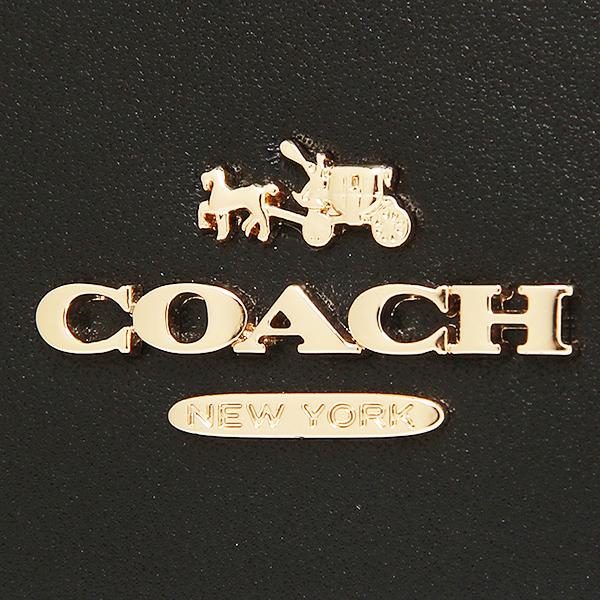 코치 지갑 COACH 53887 LIBLK 스무스 레더 슬림 포락선장 지갑 블랙