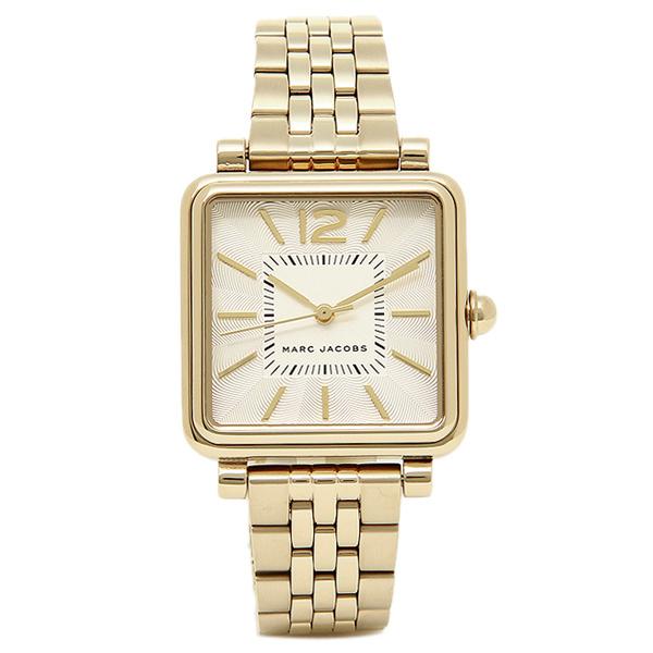 【4時間限定ポイント10倍】マークジェイコブス 腕時計 MARC JACOBS MJ3462 レディース ゴールド ホワイト