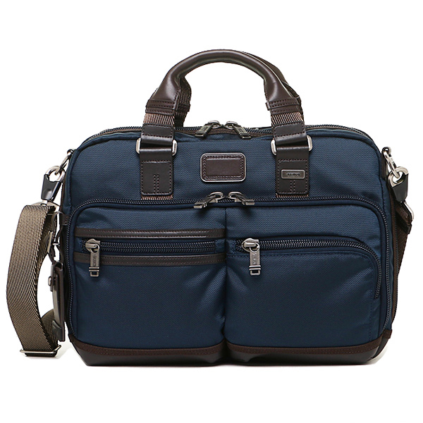 트미밧그 TUMI 222640 NVY2 ALPHA BRAVO ANDERSEN SLIM COMMUTER BRIEF 브리프케이스 NAVY