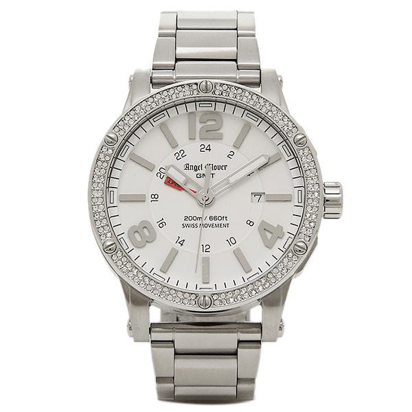 【返品OK】エンジェルクローバー 時計 ANGEL CLOVER EVG46WHZ LIMITED 腕時計 ウォッチ ホワイト
