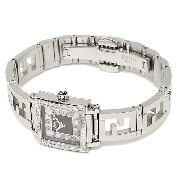 펜디 시계 FENDI F605021000B0 쿠아드로 손목시계 워치 실버/블랙