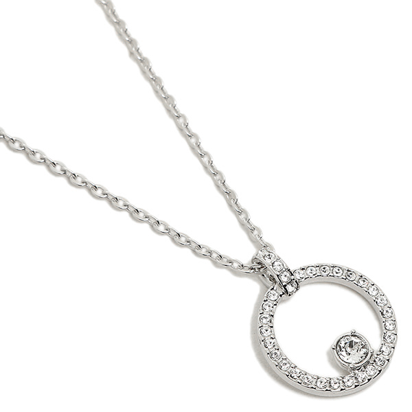 Swarovski necklace SWAROVSKI 5198686 CREATIVITY CIRCLE pendant Lady s silver d7fcb11c67
