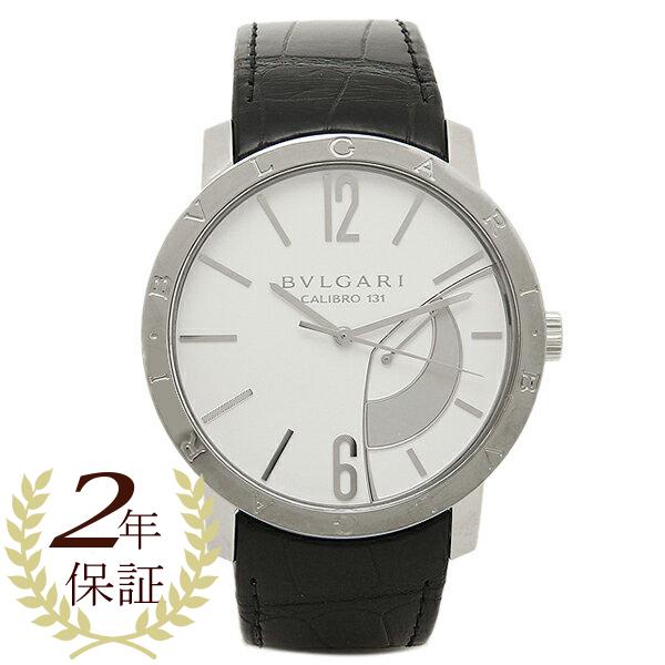 ブルガリ 時計 メンズ BVLGARI BB43WSL ブルガリ ブルガリ 腕時計 ウォッチ ホワイト/シルバー/ブラック, オオウチヤマムラ 4b87bf1f