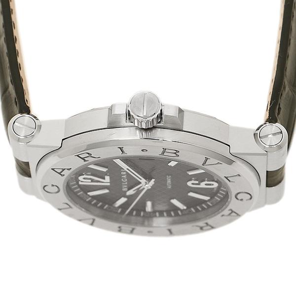 불가리 시계 맨즈 BVLGARI DG40BSLD 디아고노라바오트마틱크 손목시계 워치 실버/블랙