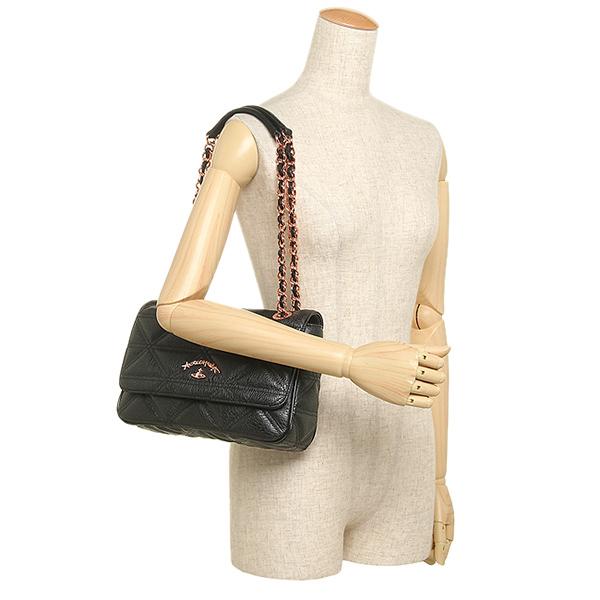 Vivien waist Wood bag VIVIENNE WESTWOOD 7051 SHARLENEMANIA shoulder bag  BLACK
