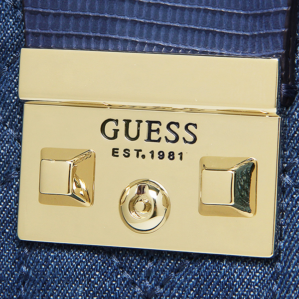 gesubaggu GUESS DG621305 DEN KALEN SMALL BOX SATCHEL挎包DENIM