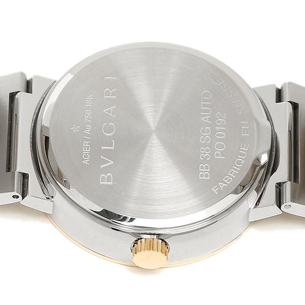 불가리 BVLGARI 시계 손목시계 BVLGARI 불가리 불가리 오토매틱 YG콤비 화이트 라지 BB38WSGD/N AUTO 워치 손목시계 시리얼유