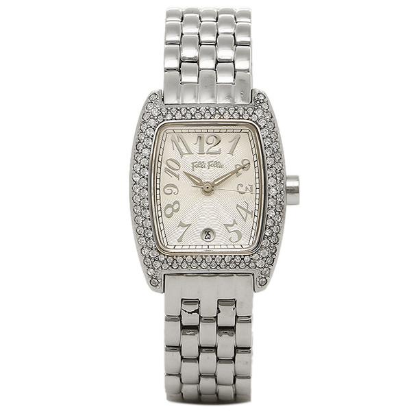 【24時間限定ポイント5倍】フォリフォリ FOLLI FOLLIE 時計 腕時計 FOLLI FOLLIE フォリフォリ WF5T081BDS SILVER シルバー レディースウォッチ 腕時計
