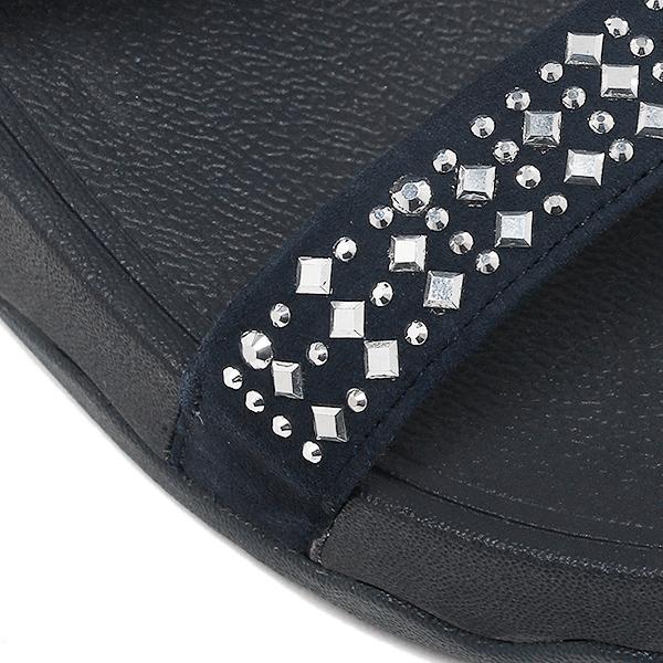 合身FLOP涼鞋fitflop 509 097 NOVY SLIDE SUPERNAVY