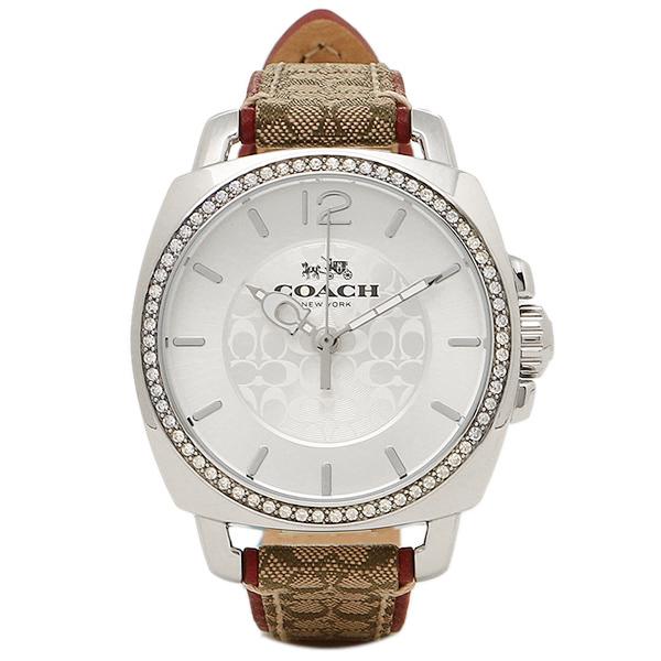 コーチ 腕時計 レディース COACH 14502415 シルバー ブラウン