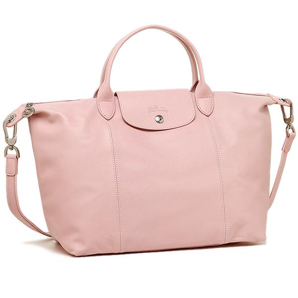 a17ceee28cbf Longchamp bag LONGCHAMP Lady s 1515 737 C59 LE PLIAGE CUIR プリアージュ TOP  HANDLE BAG tote bag GIRL