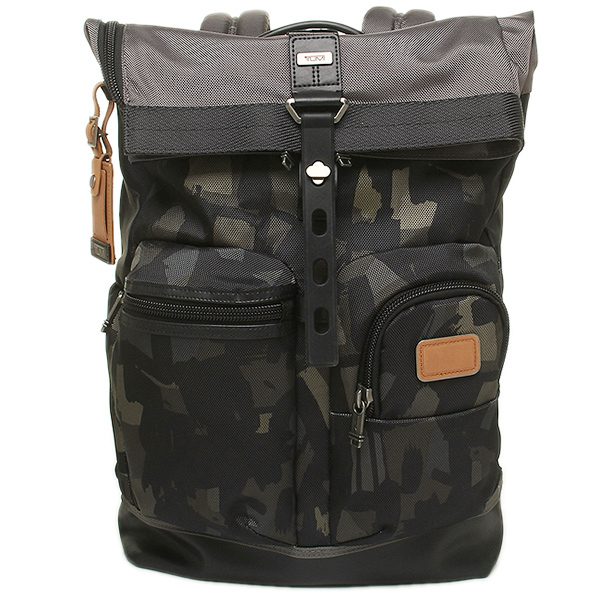 트미밧그 TUMI 222388 GC2 알파 ALPHA BRAVO LUKE ROLL T TOP BACKPACK 배낭・백 팩 GREY/CAMO