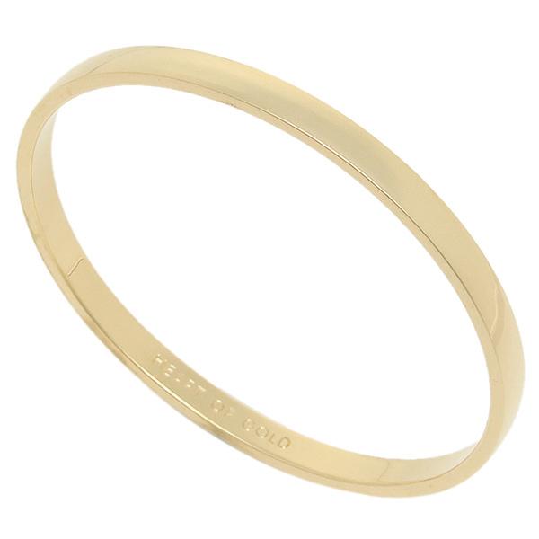 케이트 스페이드 팔찌 레이디스 KATE SPADE WBRU1292 711 IDIOM BANGLES HEART OF GOLD - SOLID 팔찌・팔찌 골드