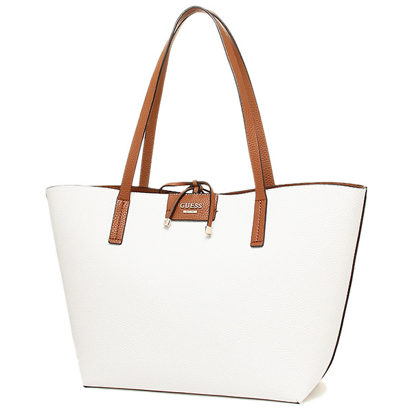 게스밧그 GUESS VG642223 WML BOBBI INSIDE OUT TOTE 토트 백 WHITE MULTI