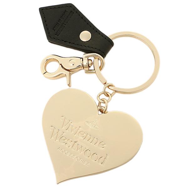 维维恩维斯特伍德钥匙圈VIVIENNE WESTWOOD 321158 MIRROR HEART键环BLACK
