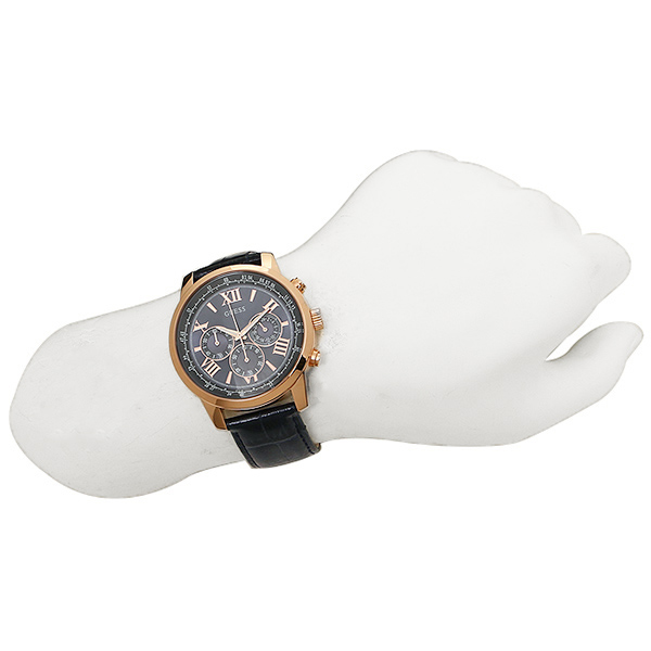 게스 시계 맨즈 GUESS W0380G5 HORIZON 맨즈 손목시계 워치 블루/골드