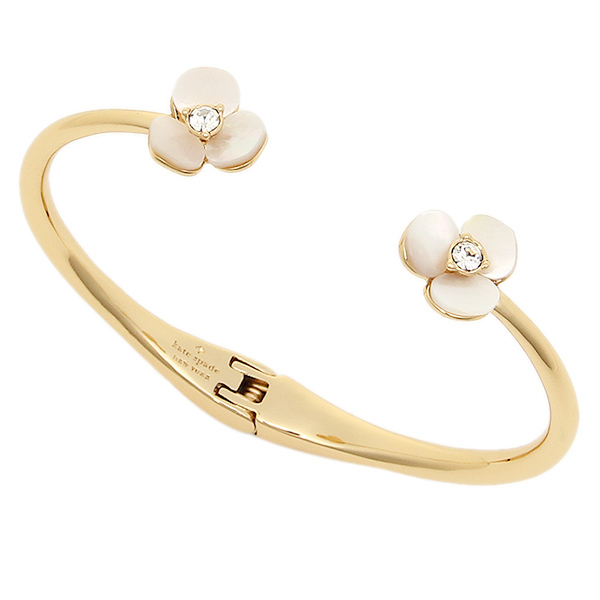 Kate Spade Bracelet Lady S Wbrub663 110 Disco Thin Cuff Bangle Gold