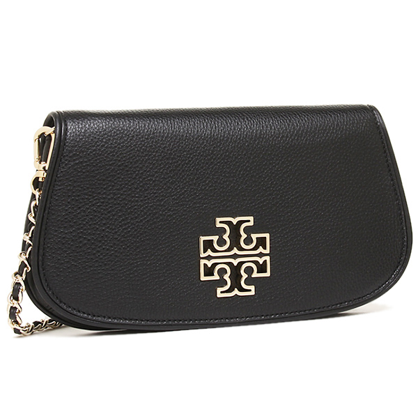 새-바치 가방 TORY BURCH 31149537 001 BRITTEN CLUTCH 2 WAY 밧그레디스 BLACK