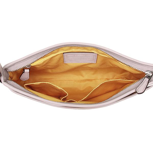教练奥特莱斯挎包COACH F38402 SVL7H银子粉笔橙子