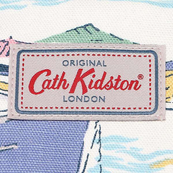 카스 키드 손 가방 CATH KIDSTON 레이디스 555852 PART COATED BEACH BAG SEA VIEW 핸드백 WHITE