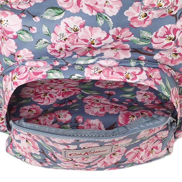 kyasukiddosombaggu CATH KIDSTON女士557672 MULTI POCKET BACKPACK BLOSSOM BUNCH帆布背包·背包BLUE
