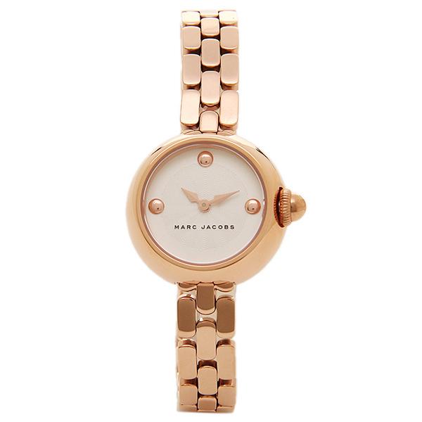 【2時間限定ポイント10倍】マークジェイコブス 腕時計 MARC JACOBS MJ3458 レディース ピンクゴールド ホワイト