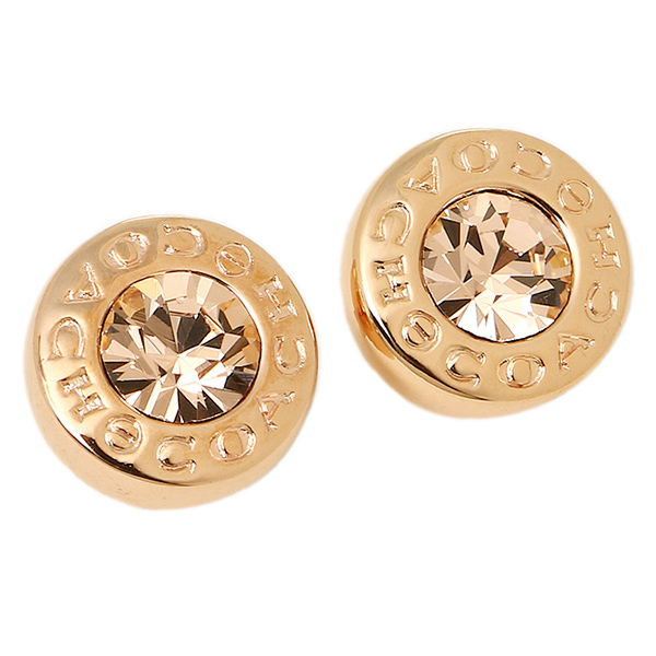 Coach Outlet Pierced Earrings F54516 Rgd Rose Gold
