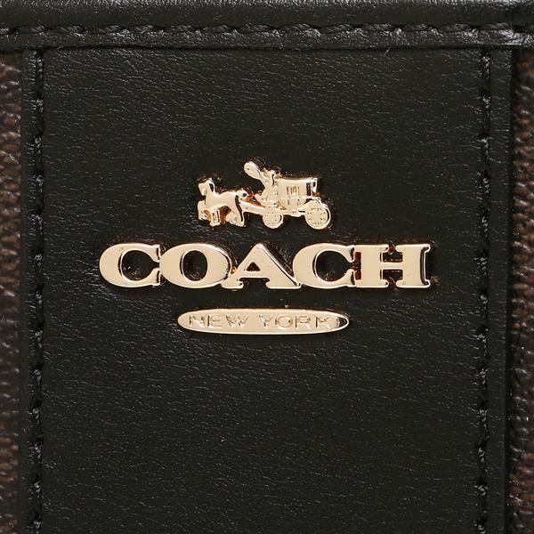 코치 COACH장 지갑 아울렛 F54630 IMAA8 브라운 블랙