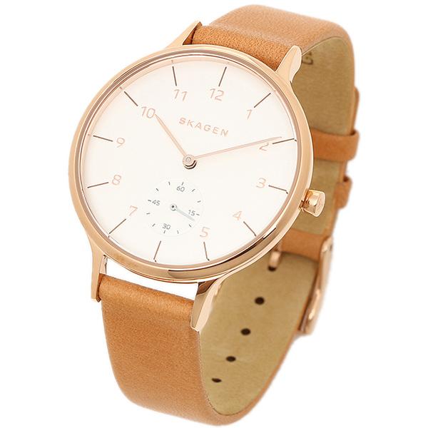 82e1fe28e4 【4時間限定ポイント10倍】スカーゲン時計SKAGENSKW2405ANITAアニタレディース腕時計ウォッチブラウン