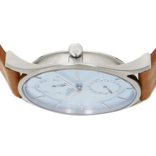 sukagen钟表SKAGEN SKW6178 HOLST霍尔斯特人手表表棕色/蓝色/银子
