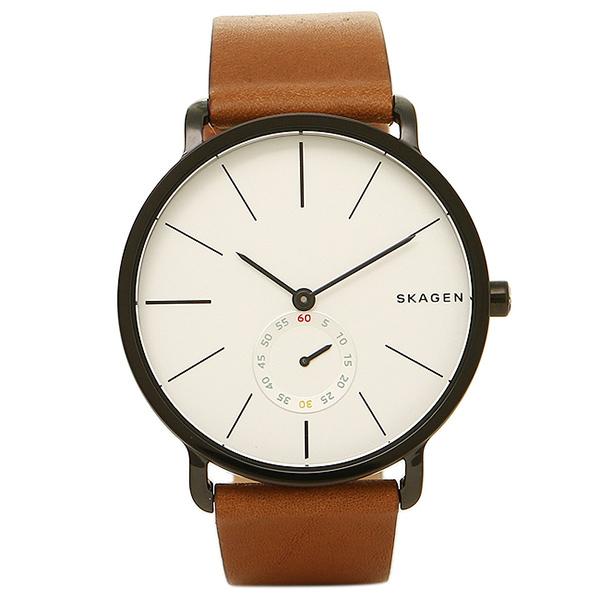 【28時間限定ポイント5倍】スカーゲン 時計 SKAGEN SKW6216 HAGEN ハーゲン メンズ腕時計 ウォッチ シルバ-/ブラウン