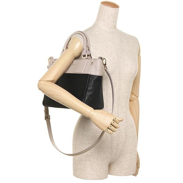 凯特黑桃挎包KATE SPADE PXRU6325 048女子的黑色/浅驼色