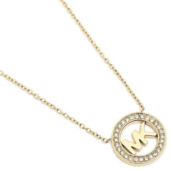 pendant us item michael logo kors necklaces necklace women online f