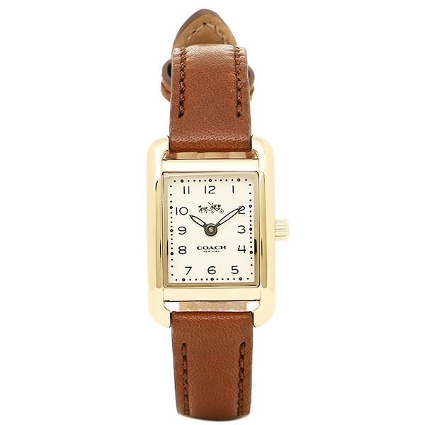 【4時間限定ポイント10倍】コーチ 腕時計 レディース COACH 14502297 ブラウン ゴールド ホワイト