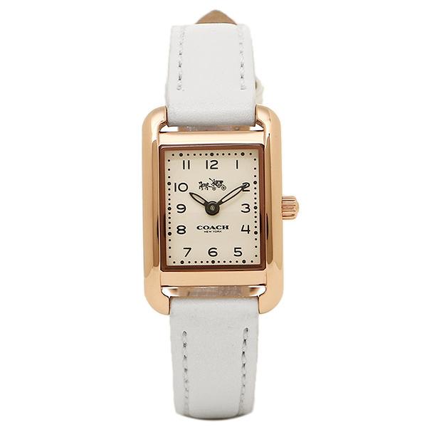 2ef7a7dfee28 【4時間限定ポイント10倍】コーチ腕時計レディースCOACH14502298ゴールドホワイト