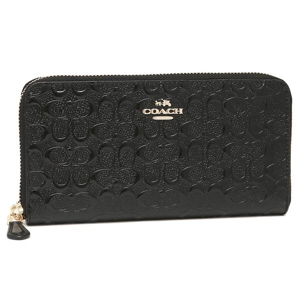 COACH 지갑 아울렛 코치 F54805 시그네챠엔보스드레자아코디온집워렛트장 지갑