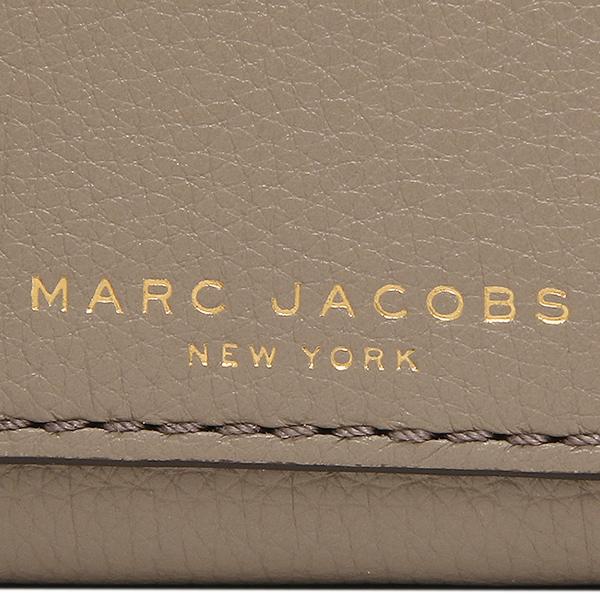 标记雅各布对开钱包MARC JACOBS M0008172 213女子的灰色