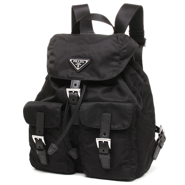0308c0eda0e0 ... Prada bag lady PRADA 1BZ677 V44 F0002 VELA rucksack backpack NERO ...